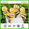 resina decoración de los animales de la abeja olla de suspensión