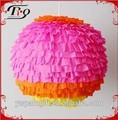 parte decoración colgante venta al por mayor bola de papel adultos piñata