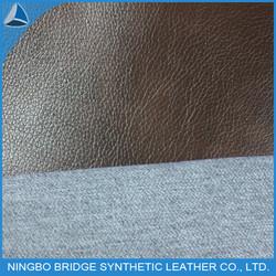 M117 grain T/C backing pu sofa artificial fabric