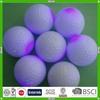 Cheap funny colorful fantastic design LED flashing golf ball manufacturer