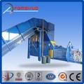 Hidrolik yün balya pres makinesi/texitle balyalama makinesi/pirinç saman balyalama makinesi
