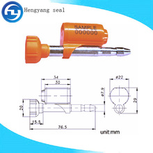 top quality container seal lock, bullet seal