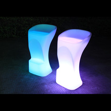 High fashion led furniture, Guangdong led night club glowing chair manufacturer
