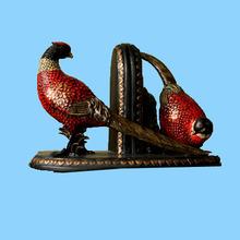 Home decor custom red resin gift craft birds wholesale