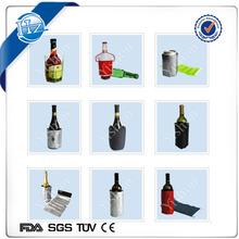 Cooling Beer Custom Cooling portable Bottle Cooler And Warmer supplier gel bottle cool