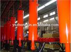 High quality steel hydraulic cylinder, Hydraulic cylinder for dump truck, 2 bore hydraulic cylinder