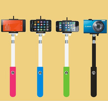 Camera Flexible Handheld Mini wireless monopod selfie stick with clip holde