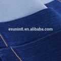 2014 fábrica azul escuro 100% tecido jeans de algodão grosso