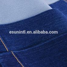 2014 factory dark blue 100% cotton jean fabric wholesale