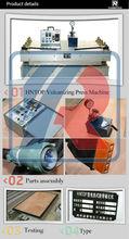 rubber sheet cutting machine/rubber vulcanizing machine