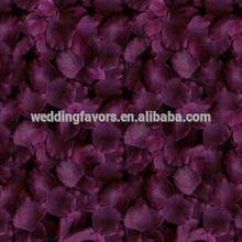 Silk Rose Petals - Plum