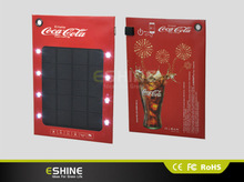 ESC-06 Paper-thin solar panel turns print ad into a smartphone charger