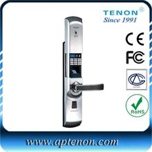 Intelligent Digital Wireless Keypad Finger print Lock with Remote control Function