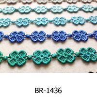 Bracelet new design lace flower bracelets thickness clover flower bracelets assorted color