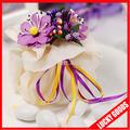 fancy casamento decorativos itália fios de bala saco flores