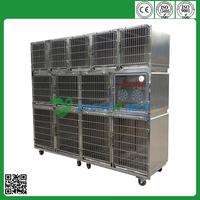 YSVET0510 customized transport stainless steel kennel
