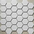 tileseasy branco hexagon mosaico cerâmico azulejo