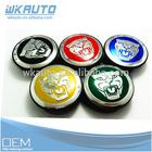 different color for choose jaguar car wheel center hub caps