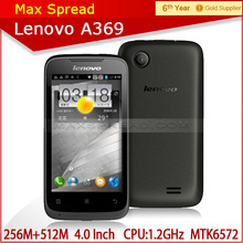 China very Cheap Dual Core mobile phone Lenovo A369 4.0inch IPS Android 2.3 china market of electronic