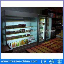 supermarket refrigerator restaurant/hotel air curtain cabinets