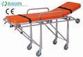 Bajo precio! Alta calidad! Evacuación camilla de ambulancia plegable ; unidad de cuidados intensivos camilla de emergencia camilla de rescate DW-AL003