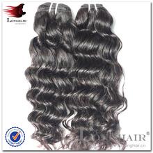 Thick end hair new hair style virgin crochet hair extension