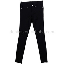 P527931-2-F1 womens slim fit black long skinny spandex rayon trousers