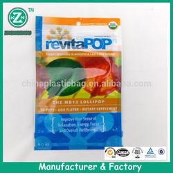 custom food packaging plastic bag zip top (zzmx564)