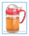 Convenient glassware glass kitchen oil jug