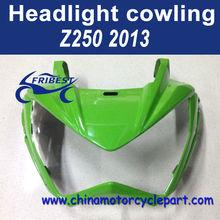 For Kawasaki Z250 2013 Motorcycle Front Fairing Green FKAHY003