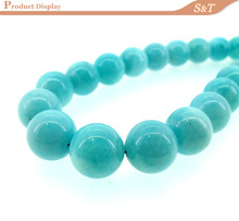 2014 wholesale AAA grade 10mm natural round smooth rough natural amazonite for jewelry making