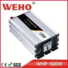 International standards package 500w pure sine wave power inverter 12vdc to 220vac