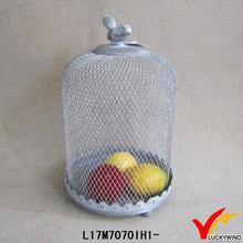 wholesale vintage metal mesh pet carrier
