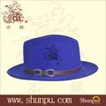 venta al por mayor con estilo fedora sombreros de fieltro