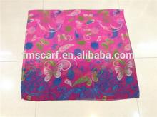 Fashion accessory lady mature scarf/ viscose scarf rayon shawl/ long viscose scarf for lady