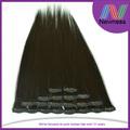 Venta directa de fábrica de extensiones de cabello recto de 12 pulgadas, sedoso, barato