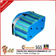 Cheap cooler picnic basket,wine insulated cooler basket