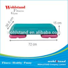 Hot Gym Fitness Free Exercise Adjustable Plastic Aerobic Step