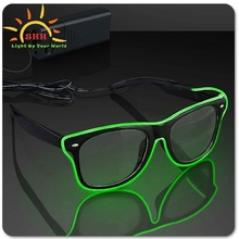Promotional high quality EL equalizer glasses for all party