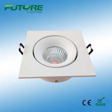 12w high brightness Led COB downlight the assemble products at home