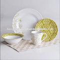 16 pcs porcelaine dîner ensemble, / Indien servant plats, / De cuisine dîner ensemble