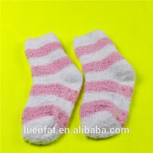 lovely floor socks,2014 girl stripe keep warm floor socks,floor socks hot selling