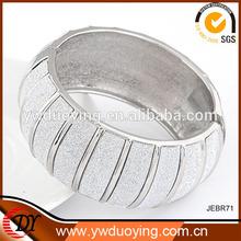 2014 Hot New Products Fashion Jewelry Scrub Metal Wide Elastic Bracelets