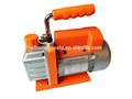 Noiseless e alta pressão clássica AC 2 estágio rotary vane bomba de vácuo