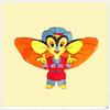 children's cartoon kite , kites flying toys