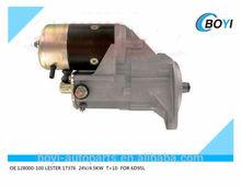 Denso starter for Komatsu Starter motor 12800-100 LESTER17376 for 6D95L