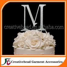 Factoy Diretly Wholesale New Design Wedding Cake Topper, Large Cake Toppers for Wedding Cakes, Monogram Letter Cake Topper