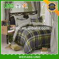 Bela pintura colcha capa de edredon king size cama atacado conjunto 100% algodão