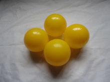Best selling yellow plastic balls