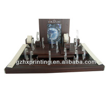 wood watch display material and industrial use wooden watch box for sale